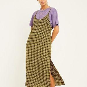 UO Plaid Maxi Dress